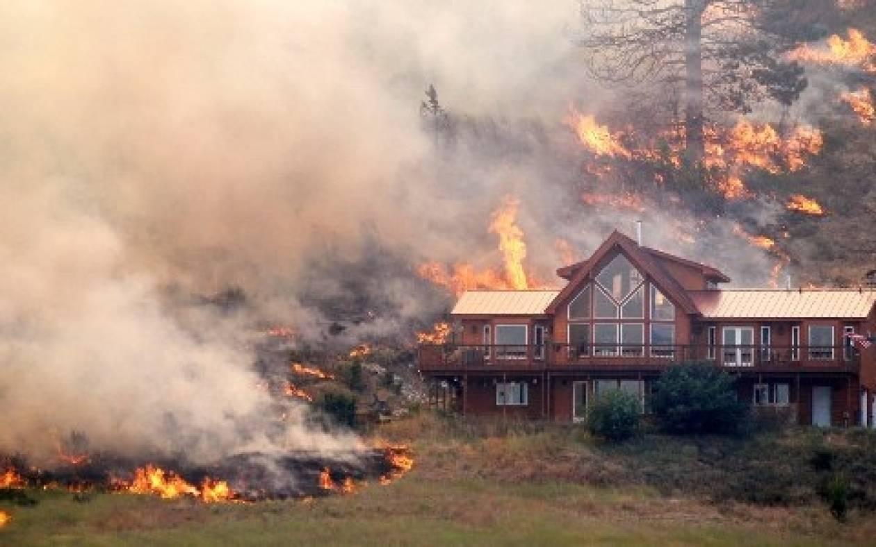 Ουάσινγκτον: Στις φλόγες 81.000 στρέμματα και 60 σπίτια
