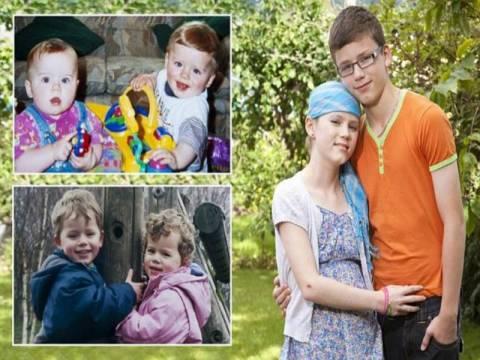 Μάθημα ζωής: Βοηθά την δίδυμη αδελφή του στη μάχη με τον καρκίνο