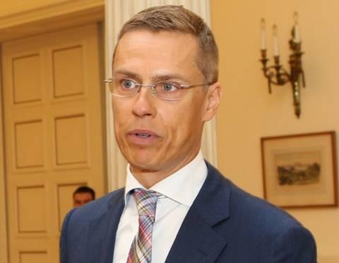 Αλεξάντερ Στουμπ: Το Ελσίνκι υποστηρίζει 100% το ευρώ