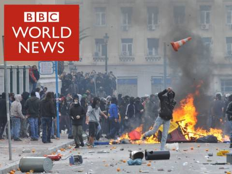 BBC: Κύμα εγκληματικότητας εν μέσω λιτότητας στην Ελλάδα