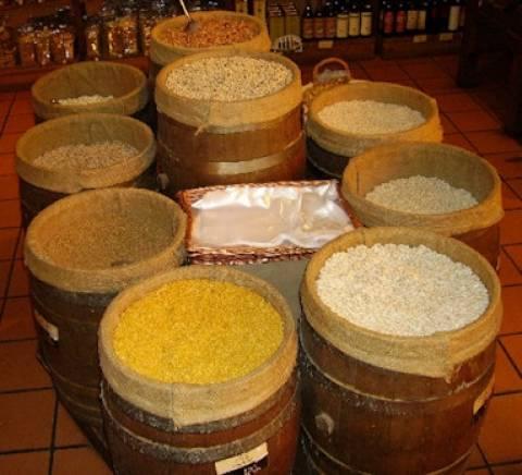 Η κρίση αύξησε τις πωλήσεις οσπρίων και ρυζιού