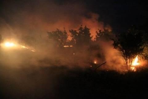 Υπό μερικό έλεγχο η πυρκαγιά στο Ηράκλειο