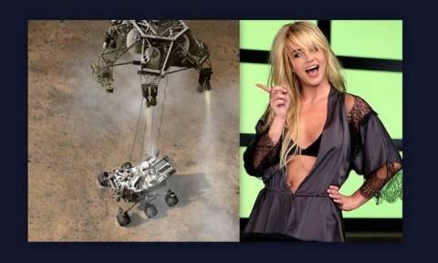 Curiosity: Britney καλεί Άρη (vid)!