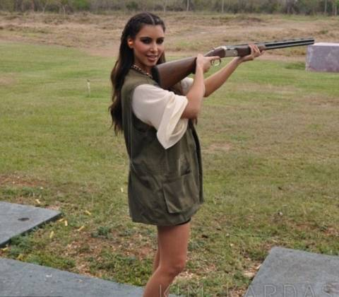 Kim Kardashian: Έτοιμη για επικίνδυνες αποστολές!