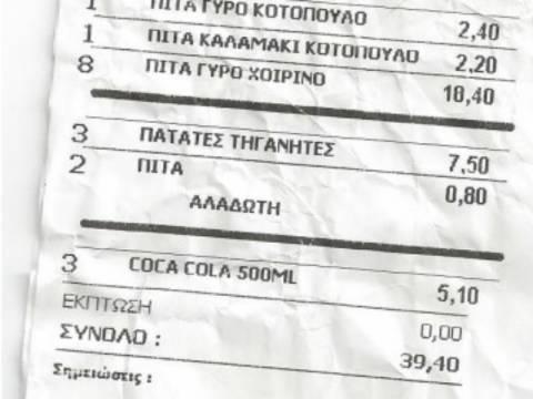 ΔΕΙΤΕ: Πως φοροδιαφεύγουν πολλοί εστιάτορες