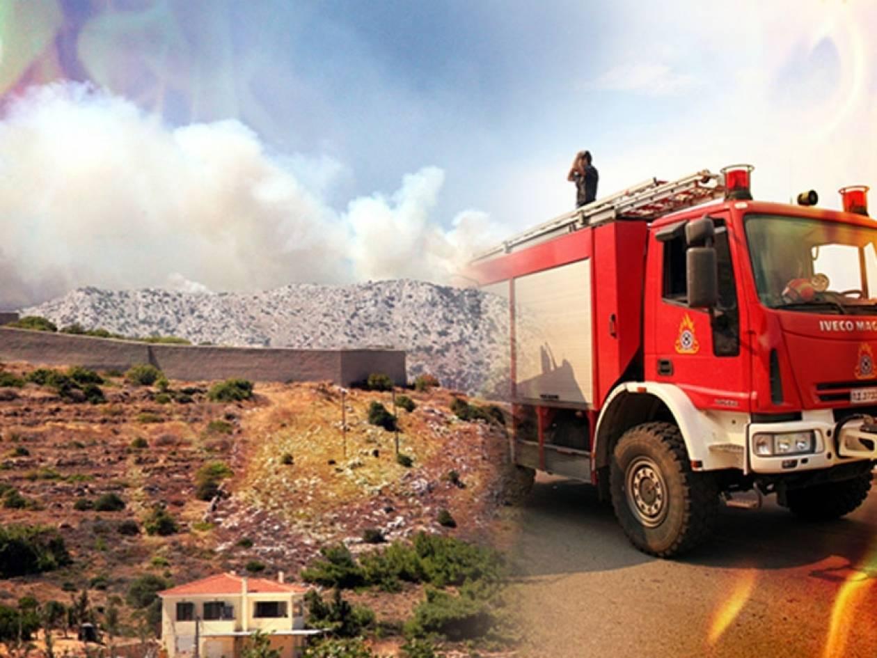 Τραγική η κατάσταση στη Χίο – Πυρκαγιές σε όλη την Επικράτεια