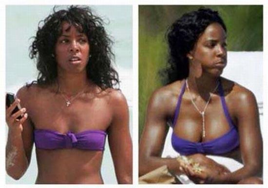 Διάσημες πριν και μετά την πλαστική στήθους (pics)