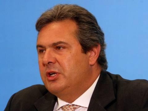 Π. Καμμένος: Να διερευνηθεί ποιοι πόνταραν στη χρεοκοπία της Ελλάδας