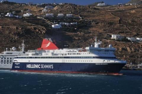 Μύκονος: Προσέκρουσε σε προβλήτα επιβατικό πλοίο