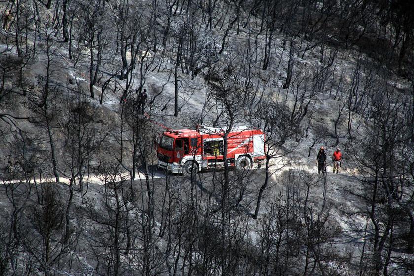 Καίγεται η Ελλάδα για 5η μέρα