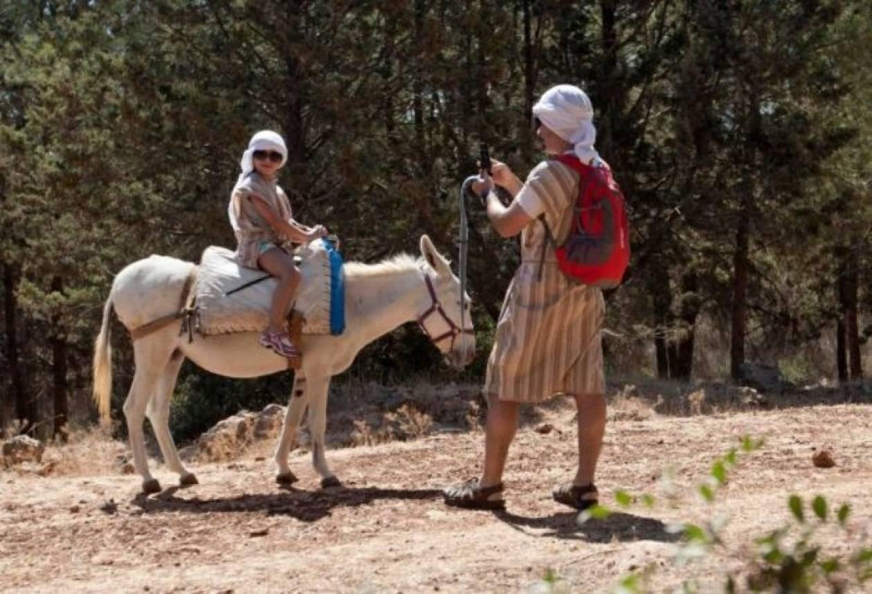 Οι Ισραηλινοί έβαλαν WiFi σε γάιδαρους για να «τονώσουν» τον τουρισμό