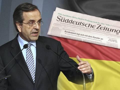 Αντεπίθεση Σαμαρά σε Γερμανούς μέσω Suddeutsche Zeitung