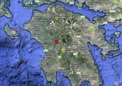 Σεισμός 3,1 Ρίχτερ δυτικά της Τρίπολης