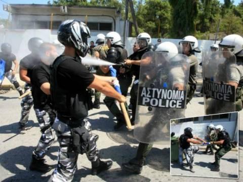 Kόρινθος: Έκοψαν το νερό στο κέντρο λαθρομεταναστών