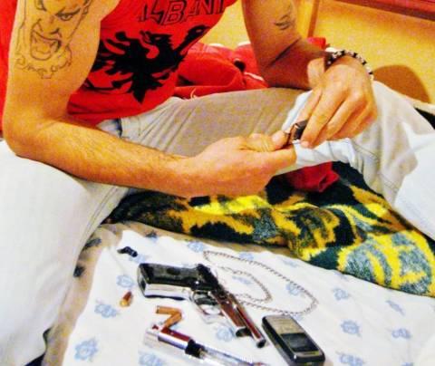 Αυτός είναι ο Αλβανός που απείλησε τη χώρα μας (vid)!
