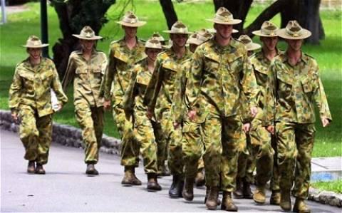 Αυστραλία: Τελικά οι γυναίκες δεν θέλουν να πάνε στον πόλεμο