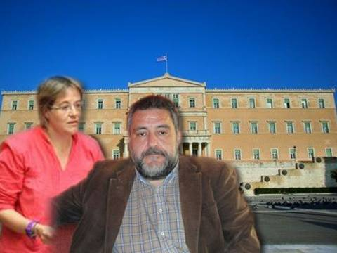 Στα χέρια βουλευτές του ΣΥΡΙΖΑ και της Χρυσής Αυγής