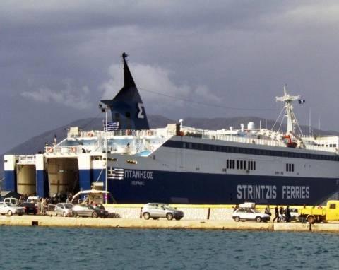 Μηχανική βλάβη έφερε τη καθυστέρηση στο πλοίο «Επτάνησος»