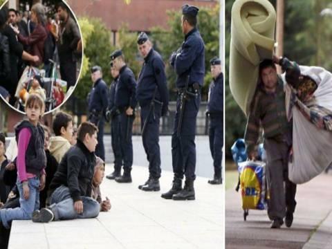 Παρίσι: Η αστυνομία εκκένωσε καταυλισμό Ρομά