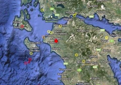 Σεισμός 3,6 Ρίχτερ στην Αμαλιάδα