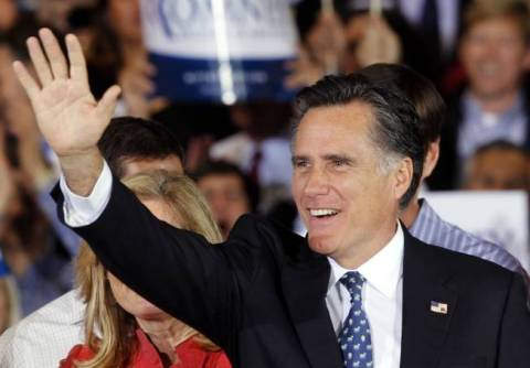 ΗΠΑ: Ο Ρόμνεϊ είναι και επίσημα ο «εκλεκτός» των Ρεπουμπλικάνων