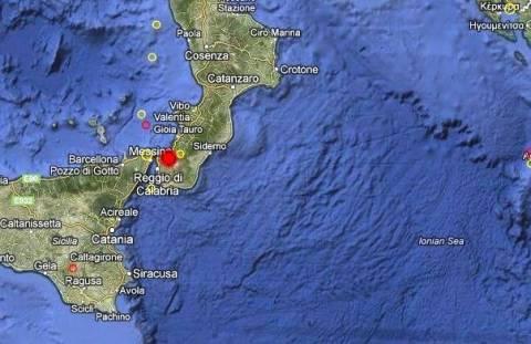 Σεισμός 4,5 Ρίχτερ στη νότια Ιταλία