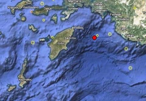 Σεισμός 3,2 Ρίχτερ στα Δωδεκάνησα