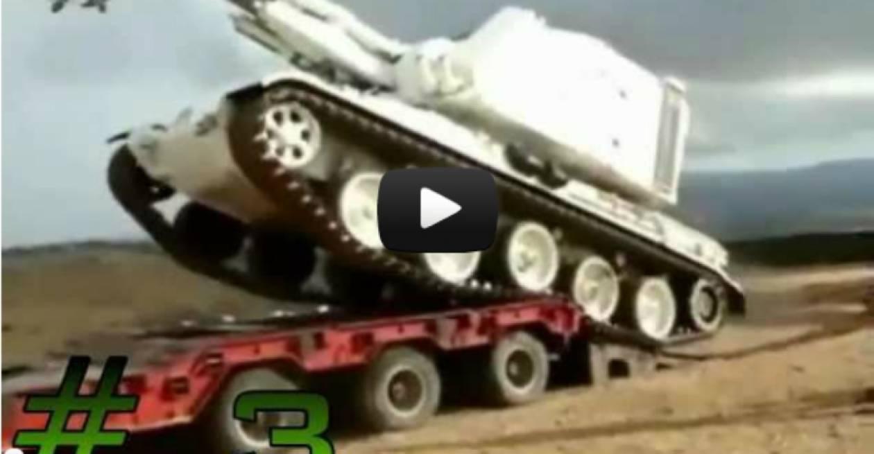 Βίντεο σοκ: Στρατιωτικά ατυχήματα που κόβουν την ανάσα
