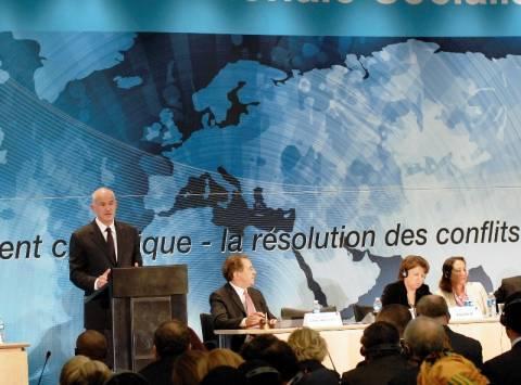 Γ. Παπανδρέου: Ψήφος αλληλεγγύης στους Έλληνες η επανεκλογή του στη ΣΔ