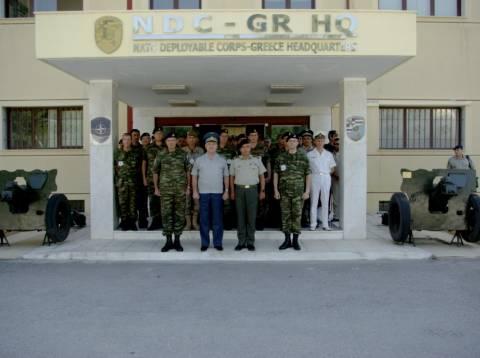Επιθεώρηση στην 71η Ταξιαρχία από τον Βούλγαρο Α/ΓΕΕΘΑ
