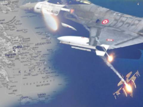 «Η Ελλάδα κατέρριψε τουρκικό μαχητικό στο Αιγαίο»