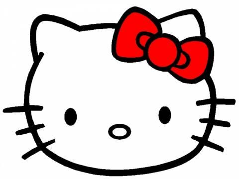 Απίθανη φωτογραφία: Η αριστερή Hello Kitty!