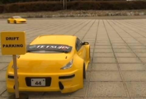 Video: Απίθανο drift parking