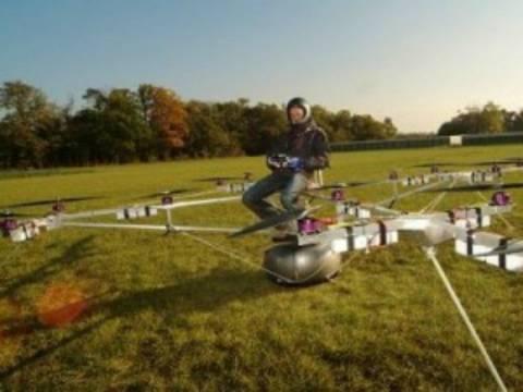 Βίντεο: Το ιπτάμενο αμάξι του μέλλοντος