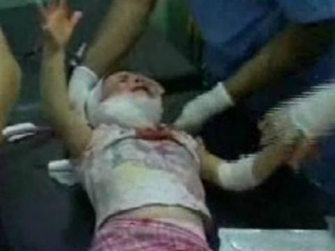 Βίντεο-ΣΟΚ: Πατέρας προσπαθεί να σώσει το τραυματισμένο παιδί του