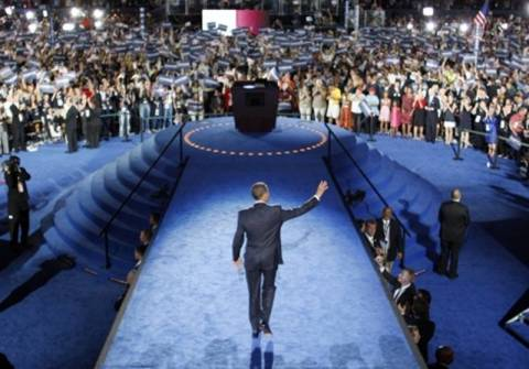 Ο Μπαράκ Ομπάμα πήρε το χρίσμα των Δημοκρατικών