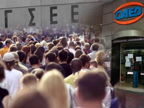 ΓΣΕΕ: Η ανεργία θα ξεπεράσει το 34% το 2013