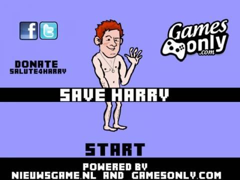Παιχνίδι: Βγάλε τον γυμνό πρίγκιπα Χάρυ από το ξενοδοχείο