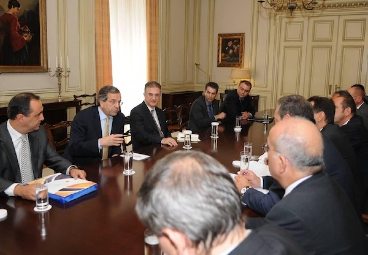 Με τους Βιομήχανους Β. Ελλάδος συναντήθηκε ο Πρωθυπουργός