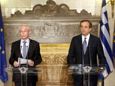Ρομπάι: Η Ελλάδα έχει θέση στην Ευρωζώνη αν συνεχίσει τις προσπάθειες