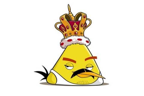 Ο Freddy Mercury χαρακτήρας των Angry Birds