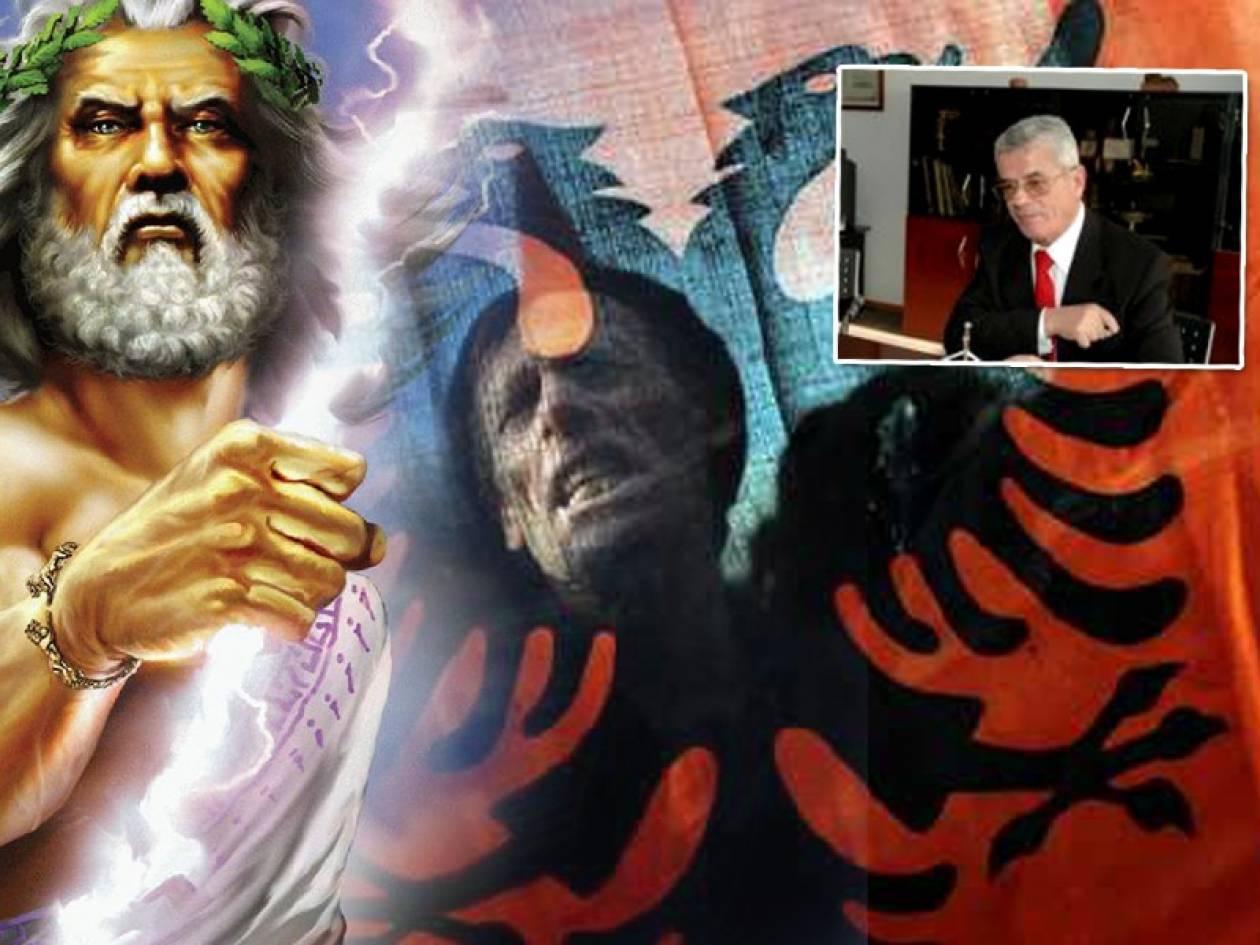 «Οι Θεοί του Ολύμπου μιλούσαν Αλβανικά»!