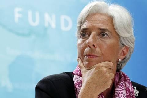 Κ. Λαγκάρντ: Ενεργός ο ρόλος ΔΝΤ στο πρόγραμμα βοήθειας της ΕΚΤ