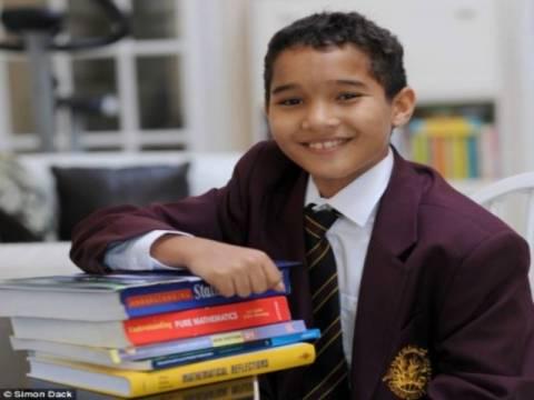 Παιδί-θαύμα: 12χρονος ο νεότερος φοιτητής πανεπιστημίου!