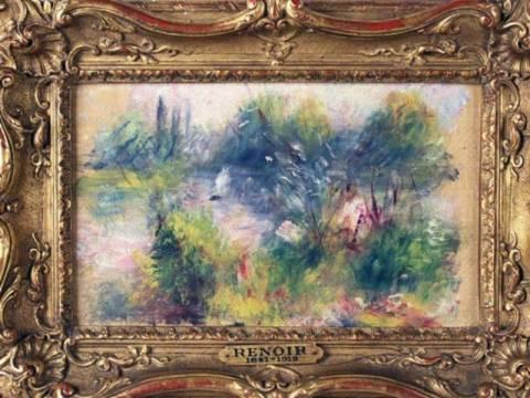 Ο λαχνός των 7 δολαρίων έκρυβε αυθεντικό πίνακα του Ρενουάρ!