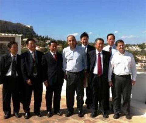 Στην Ελλάδα η Διοίκηση του Συλλόγου Φορολογουμένων Κίνας