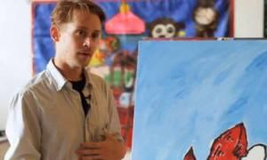 Μακόλεϊ Κάλκιν: Πώς αποφάσισε να ασχοληθεί με την ζωγραφική;