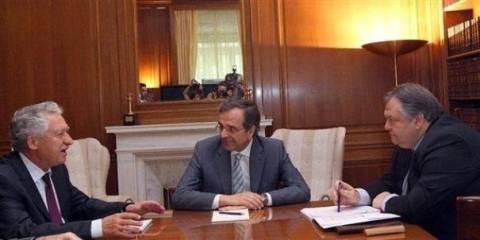 Σε εξέλιξη η σύσκεψη των κυβερνητικών εταίρων στο Μαξίμου