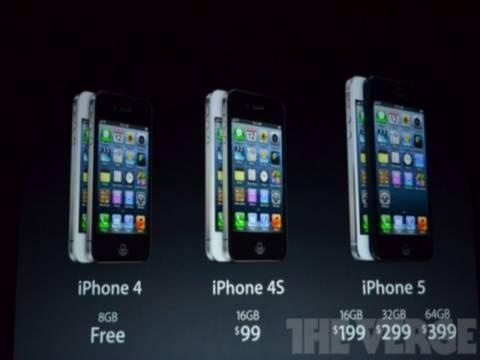 Η τιμή του iPhone 5