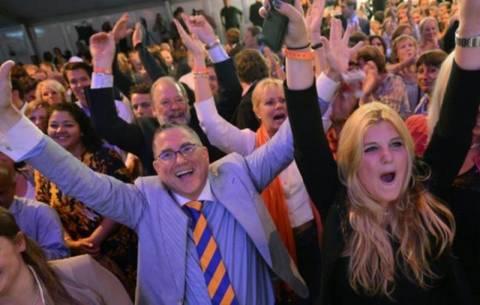 Οι φιλευρωπαϊκές δυνάμεις νίκησαν στην Ολλανδία